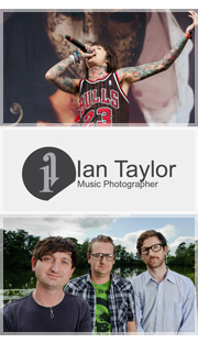 Ian Taylor Music Photographer